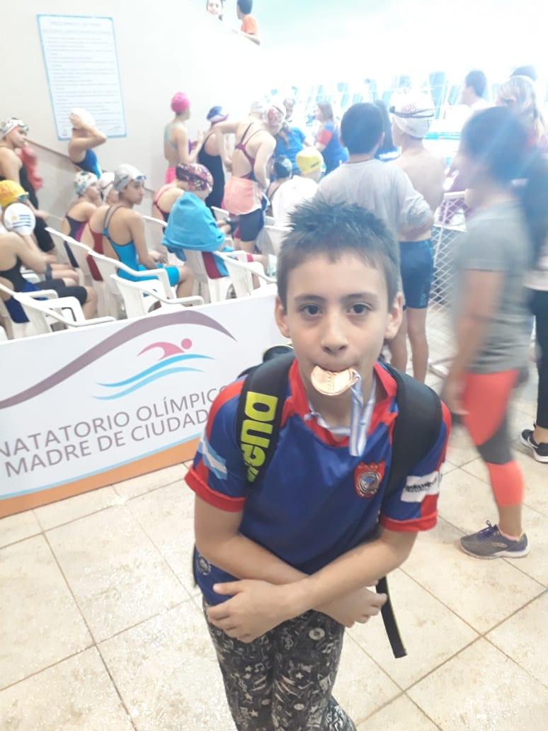 Natación: El Club Capri sumó ayer su segunda medalla en el Campeonato Nacional Infantiles y Menores