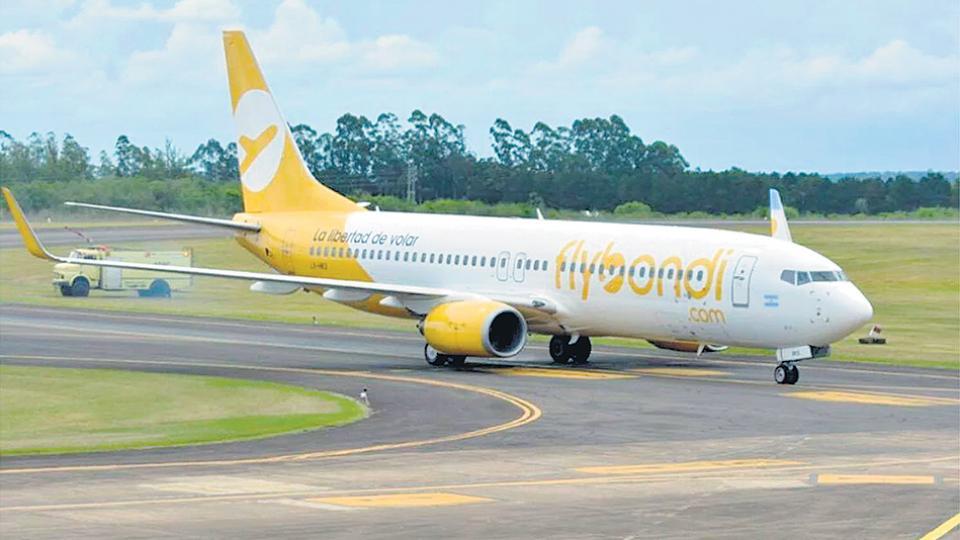Flybondi canceló un vuelo por fallas técnicas en un avión y reprogramó ocho vuelos