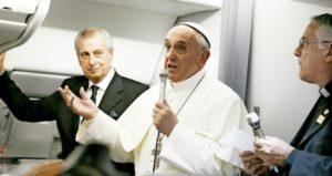 """Papa Francisco: """"No estamos en contra del aborto por religión, es un problema humano"""""""