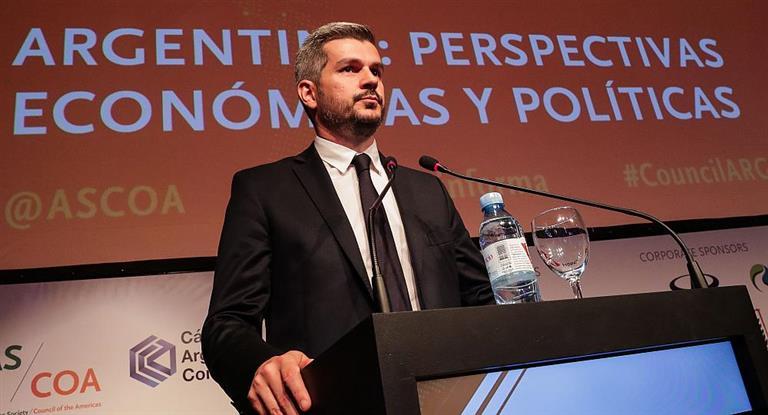 """Marcos Peña: «no estamos ante un fracaso económico"""""""