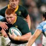 Al finalizar el primer tiempo, Los Pumas vencen 27- 7 a Sudáfrica, por la segunda fecha del Rugby Championship
