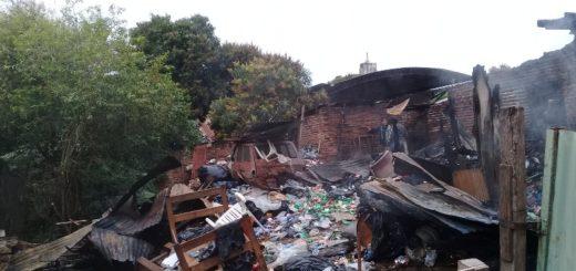 Incendio en calle España: aducen irresponsabilidad de dos hermanos para ocasionar el fuego