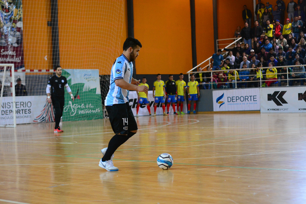 Futsal: El misionero Sandro Antivero volvió a ser convocado a la selección Argentina y se acerca al Mundial de 2019