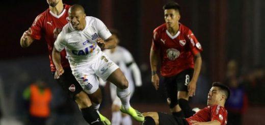 """El mensaje del Santos a Independiente: """"El fútbol se resuelve en la cancha"""""""