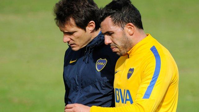 Boca: Carlos Tévez no será tenido en cuenta para el partido contra Huracán