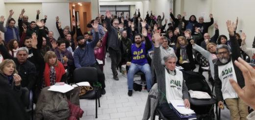Por unanimidad ratificaron un paro universitario nacional para la semana que viene: en la UNaM habrá cese total de actividades