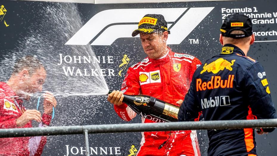 Fórmula 1: Sebastián Vettel se quedó con el Gran Premio de Bélgica