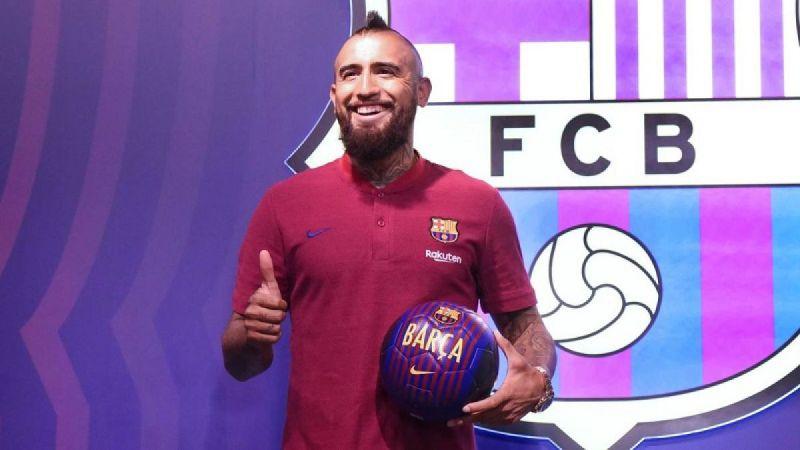 """Arturo Vidal nuevo refuerzo del Barcelona: """"Messi es el mejor del mundo"""""""