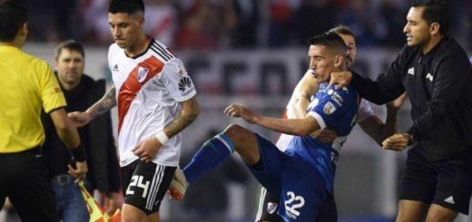 El escándalo entre Enzo Pérez y Centurión le saldrá muy caro a River: nueva sanción de Conmebol