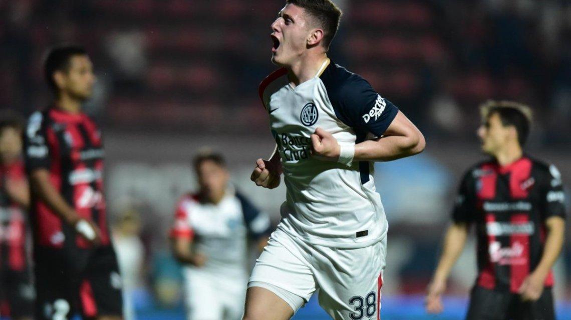 Superliga: San lorenzo se llevó un triunfo de local ante Patronato