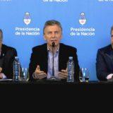 """Macri: """"Tuvimos tres días de tranquilidad, pero todavía no pasó la tormenta"""""""