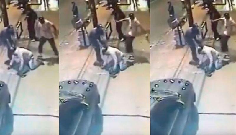 Una patota golpeó y mató a un vendedor ambulante al tirarlo bajo un colectivo: todo quedó registrado en video