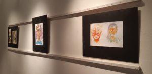 """""""Manchas"""" de Hernán Núñez en el Museo Lucas Braulio Areco"""