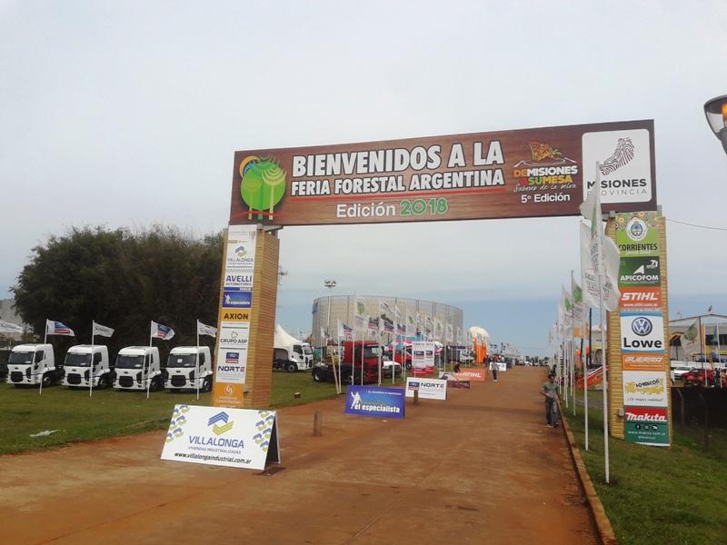 Comenzó la XIII edición de la Feria Forestal Argentina en Posadas