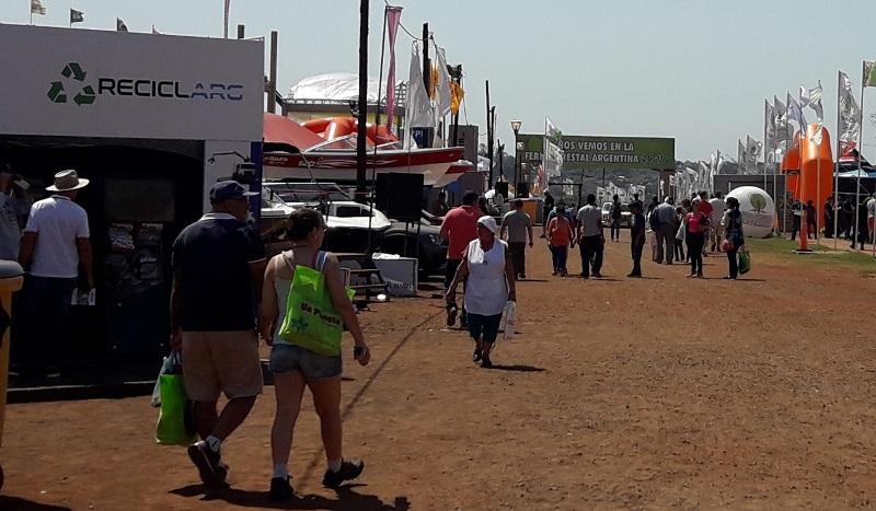 El sábado se vive a pleno en la XIII edición de la Feria Forestal Argentina