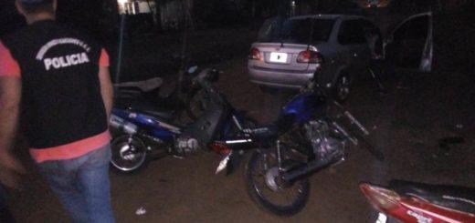 Dieron con un aguantadero de Garupá donde escondían motos robadas