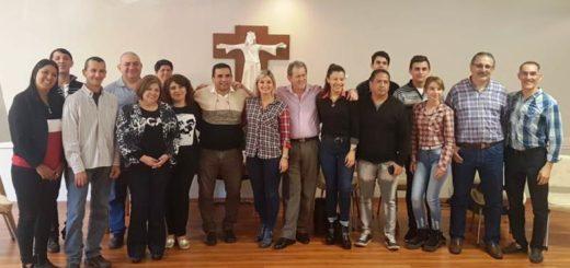 """Reunión ampliada de la Comisión Diocesana """"Justicia y Paz"""": realizaron encuentro de diálogo social en el Obispado de Posadas"""