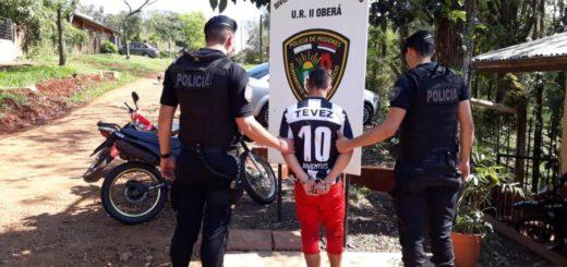 Atraparon en Oberá a un joven intensamente buscado por un robo a mano armada