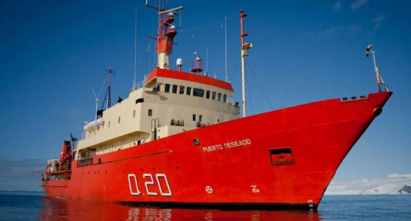 Tensión en el mar: un buque argentino se acercó a las Islas Malvinas y un barco inglés lo interceptó