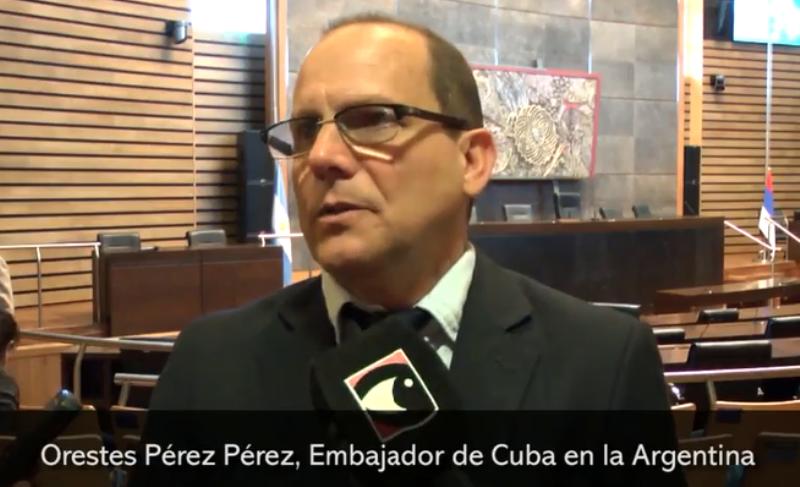 El embajador cubano en Argentina abogó por estrechar las relaciones con Misiones