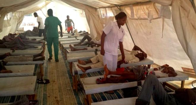 Murieron 61 personas por cólera en el noreste de Nigeria tras inundaciones