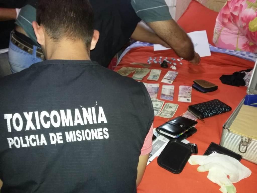 Desarman un «kiosco» de venta de cocaína en el corazón del barrio Villa Blosset