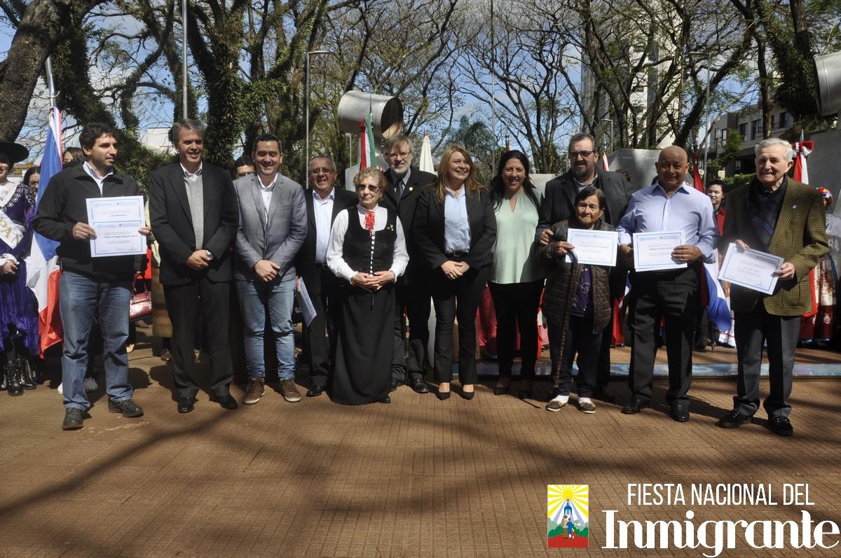 Oberá: la comunidad toda celebró el Día del Inmigrante y mañana comienza la gran fiesta