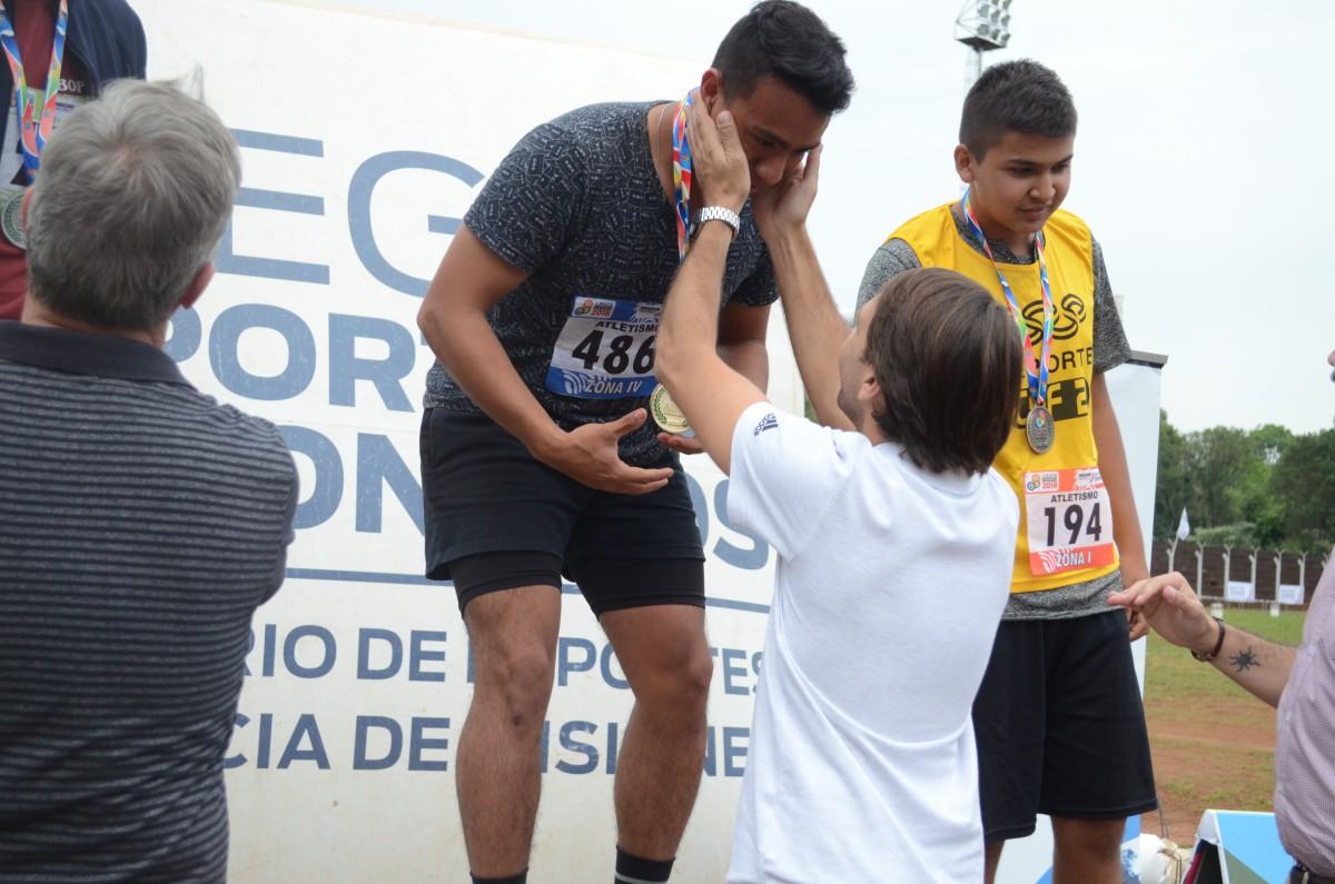 Juegos Deportivos Misioneros: Atletismo Sub-17 tuvo una gran final en Oberá