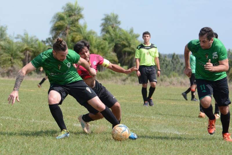 ACIADep: se jugaron los partidos reprogramados en el Tacurú Social Club