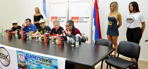 Se presentó la fecha del Superbike Argentino que se correrá en Posadas