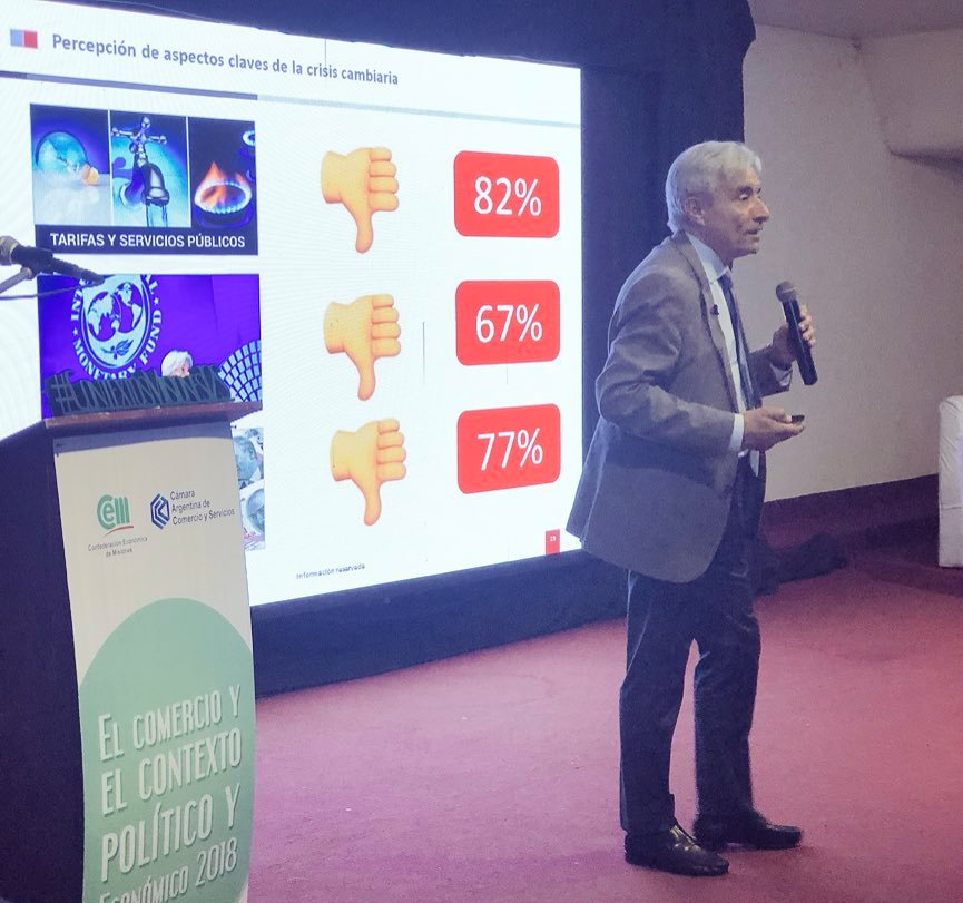 Director de Poliarquía afirmó que hay peronistas no K que superan a Macri por más de 10 puntos en escenarios de ballotage