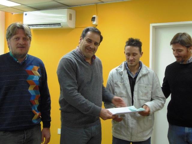 Entregaron fondos del PISEAR  para el fortalecimiento de la  Cuenca Lechera de Dos de Mayo
