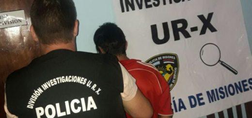 Detienen a un violento que golpeó a su ex y dañó su casa en Posadas