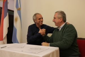 Passalacqua firmó convenio con Nación para compensar deuda histórica
