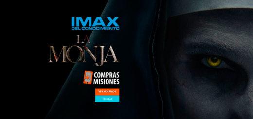 Con La Monja, el terror sobrenatural está en el IMAX del Conocimiento...Adquirí las entradas por Internet en Compras Misiones
