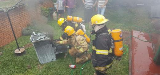 Falla eléctrica desató un incendio en su casa y sus vecinos le salvaron la vida