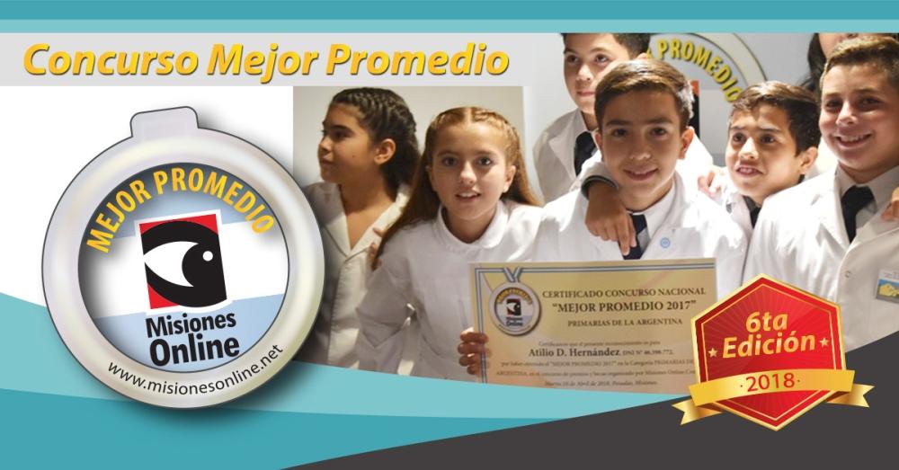 Concurso Mejor Promedio: abierta la inscripción a estudiantes de excelencia de todo el país por premios y becas de hasta 210 mil pesos