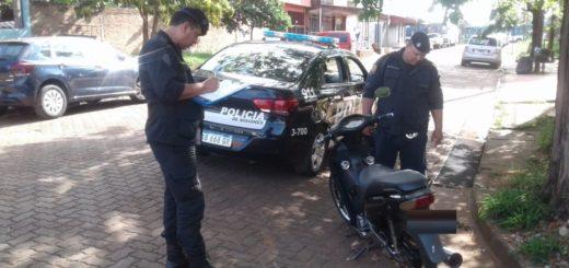 En una mañana, recuperaron cuatro motos robadas en Posadas