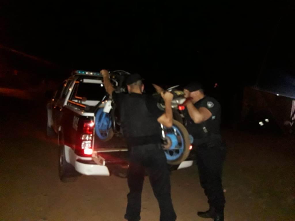Oberá: entregó a la Policía la moto robada en la que se movilizaba su hijo adolescente