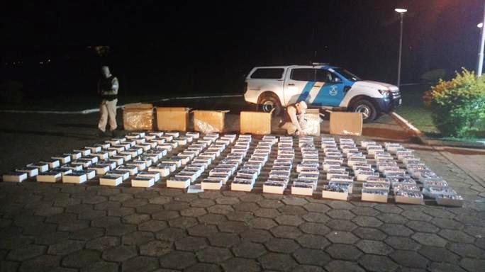 Prefectura secuestró un cargamento de mercadería ilegal valuado en casi 500.000 pesos en Puerto Iguazú