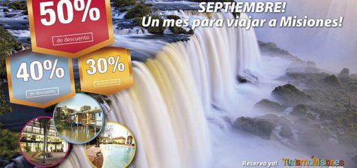 Turismo Misiones presenta imperdibles promociones para este mes