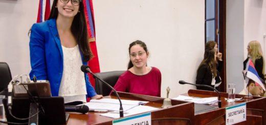 Carolina Rodríguez preside el Primer Parlamento de la Mujer de Posadas
