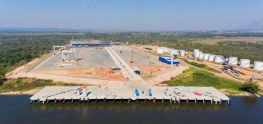 Con una inversión de US$ 40 millones, comenzará a operar una nueva terminal de contenedores de la Hidrovía Paraguay-Paraná