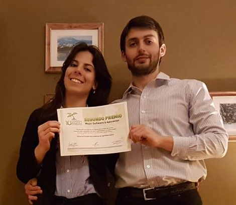 Jóvenes  misioneros fueron premiados en el Congreso Argentino de Agroinformática