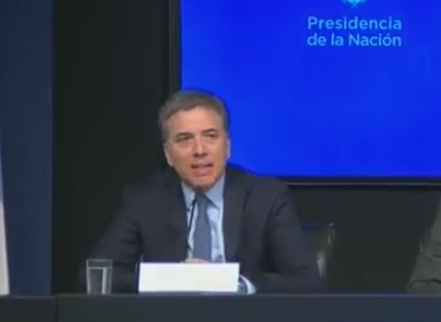 VIVO: Habla el Ministro de Economía de la Nación