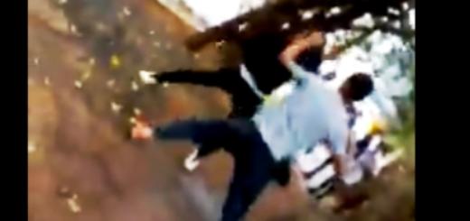 Se viralizó un video de una gresca entre estudiantes secundarios de Andresito