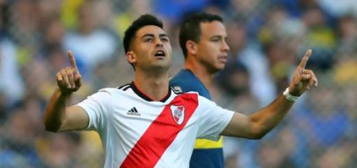 """River confirmó el grado de lesión del """"Pity"""" Martínez"""
