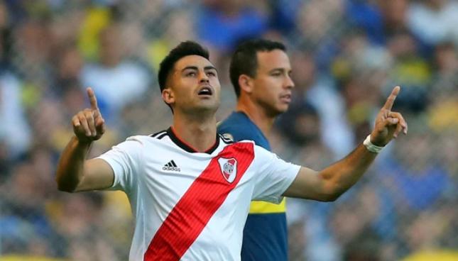 River confirmó el grado de lesión del «Pity» Martínez