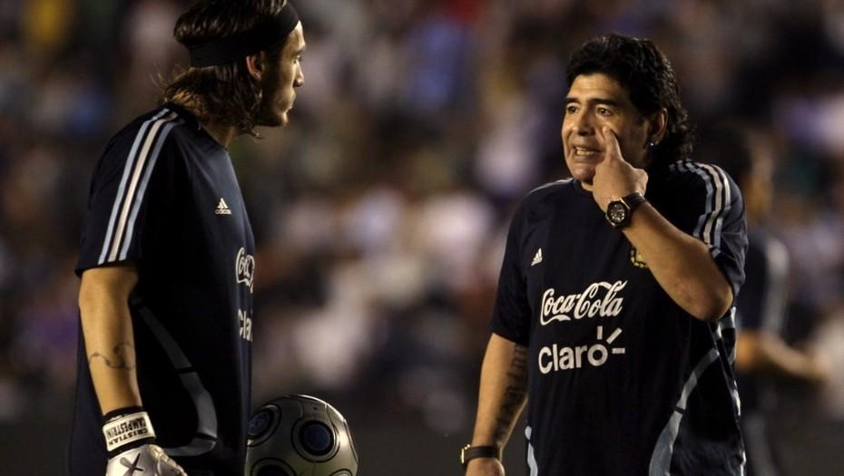 El arquero que dejó Sinaloa seducido por Maradona y ahora se quedó sin club