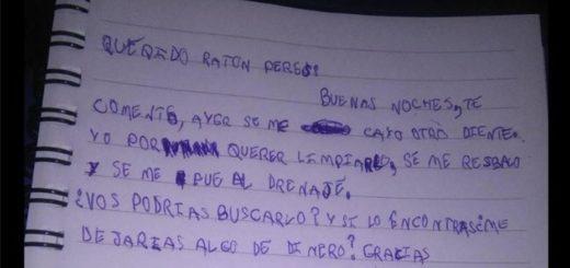 La tierna carta al Ratón Pérez de un nene que se le cayó un diente y lo perdió